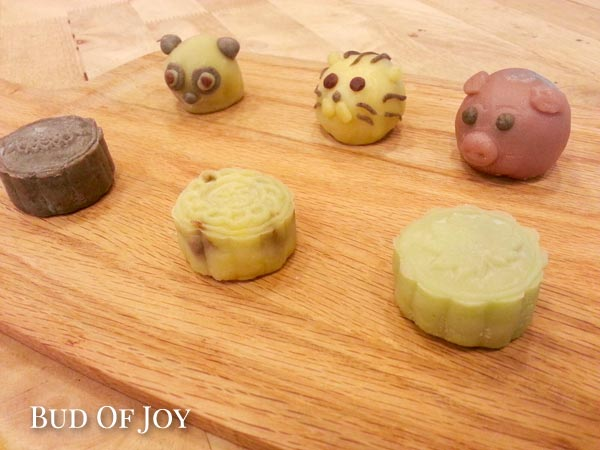 Create your own organic snowskin mooncakes!