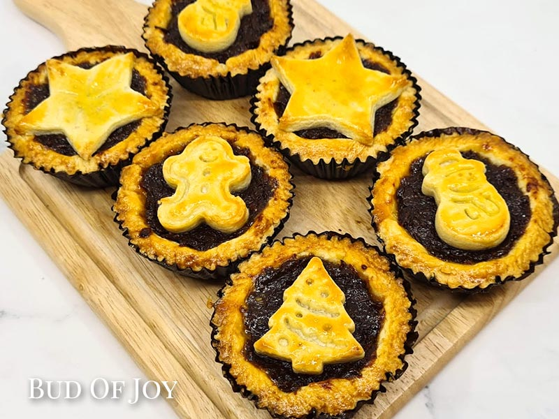 Organic Fruit Minced Pies