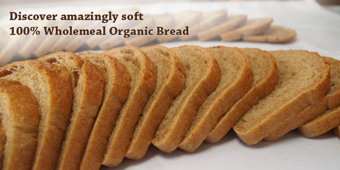 Enjoy 100% Wholemeal Breads