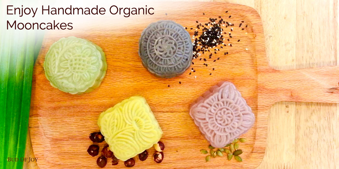 Enjoy Handmade Organic Mooncakes
