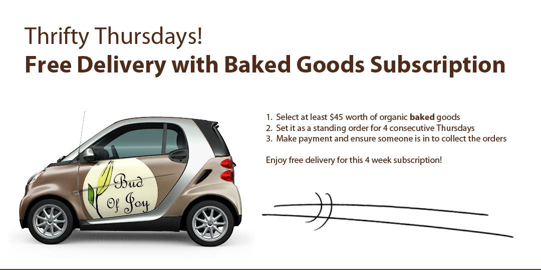 Free Delivery with Thrifty Thursdays Subscription