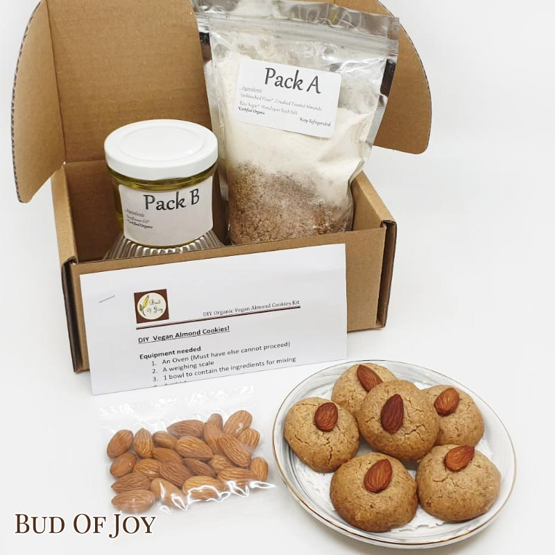 Baking Kit - Organic Almond Cookies