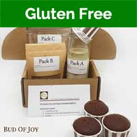 Baking Kit - Organic Chocolate Muffin (Gluten-Free, Vegan, Gum-Free)