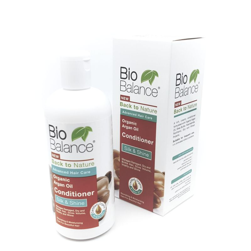 Organic Argan Oil Conditioner (Bio Balance)