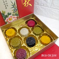8 Treasures Organic Snowskin Mooncakes