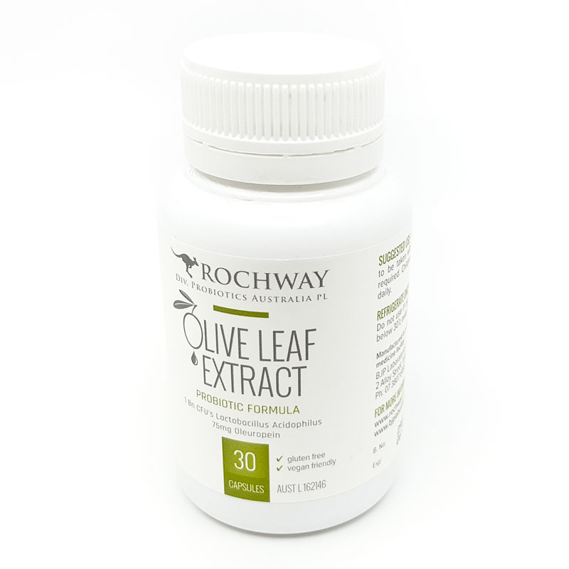 Olive Leaf Extract with probiotics (30 capsules)