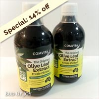 Olive Leaf Extract (Comvita Set of 2)