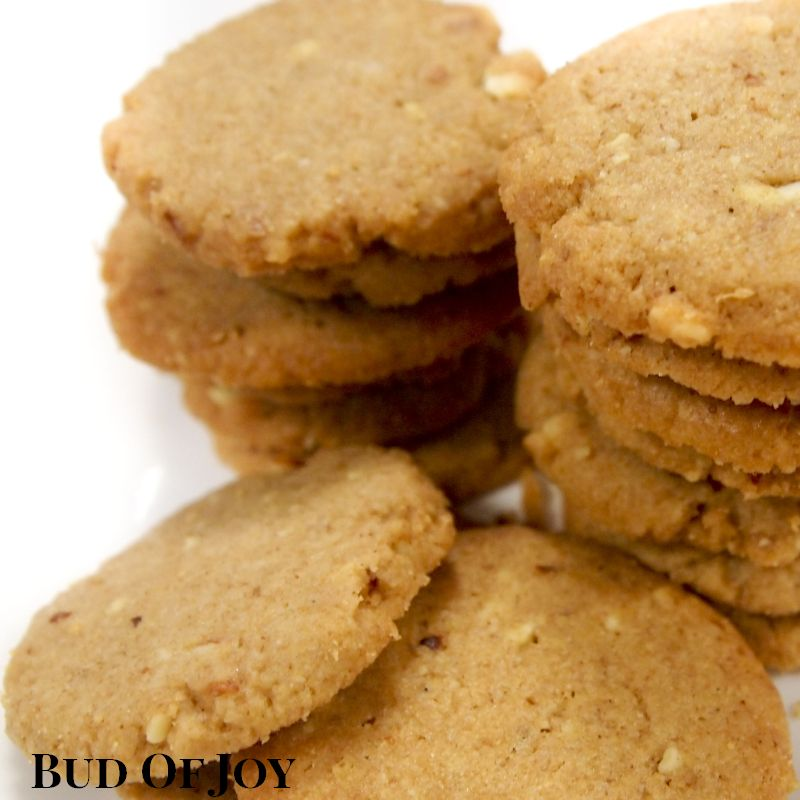 Organic Wholemeal Almond Cookies | Bud Of Joy