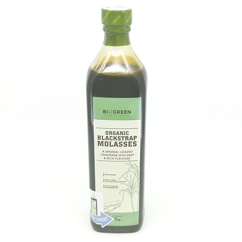 Organic Blackstrap Molasses Liquid (Biogreen)