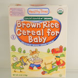 Organic Cereal for Baby - Brown Rice