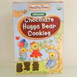 Organic Huggabear Cookies - Chocolate