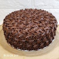 Organic Chocolate Rose Cake
