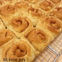 Organic Cinnamon Buns - pack of 10