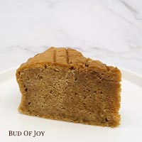 Organic Coffee Butter Cake Slice