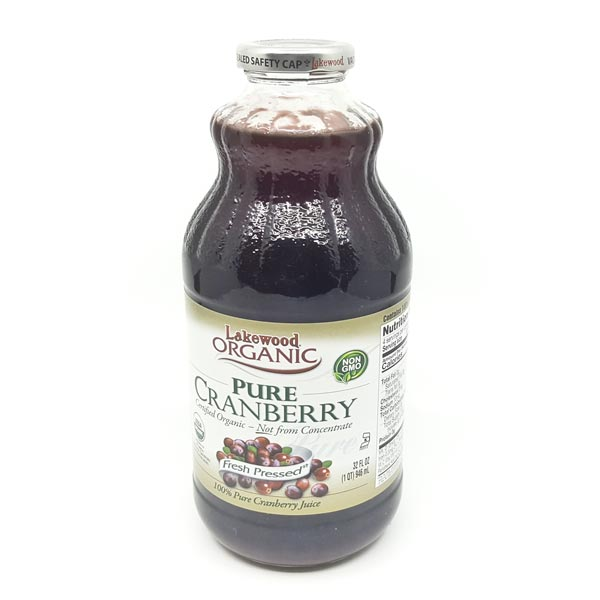 Organic Lakewood Cranberry Juice