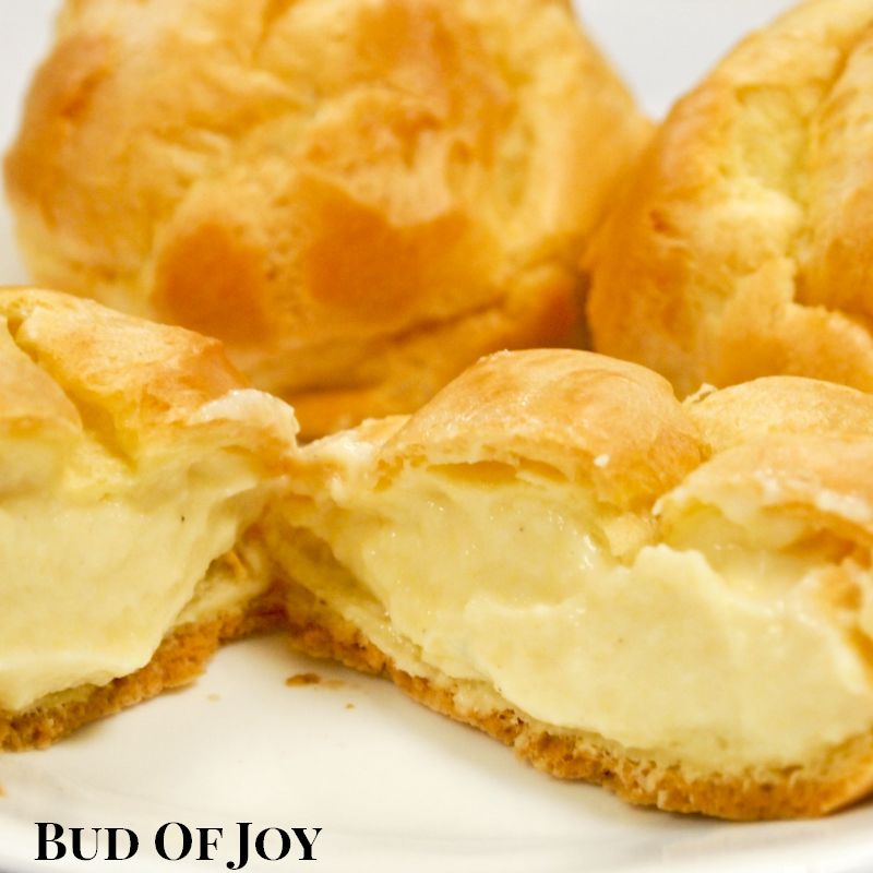 Organic Cream Puff - 9pcs