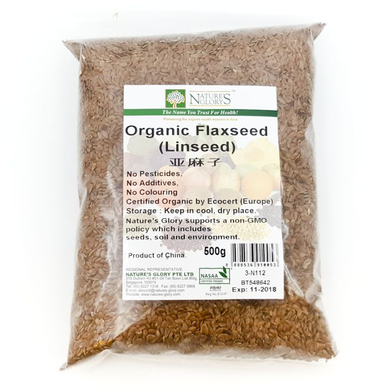 Organic Flaxseeds (Linseeds)