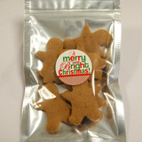 Small Organic Gingerbread Cookies in Christmas Shapes