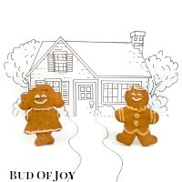 Organic Gingerbread Couple (2 pcs)