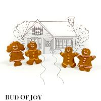 Organic Gingerbread Family (4 pcs)