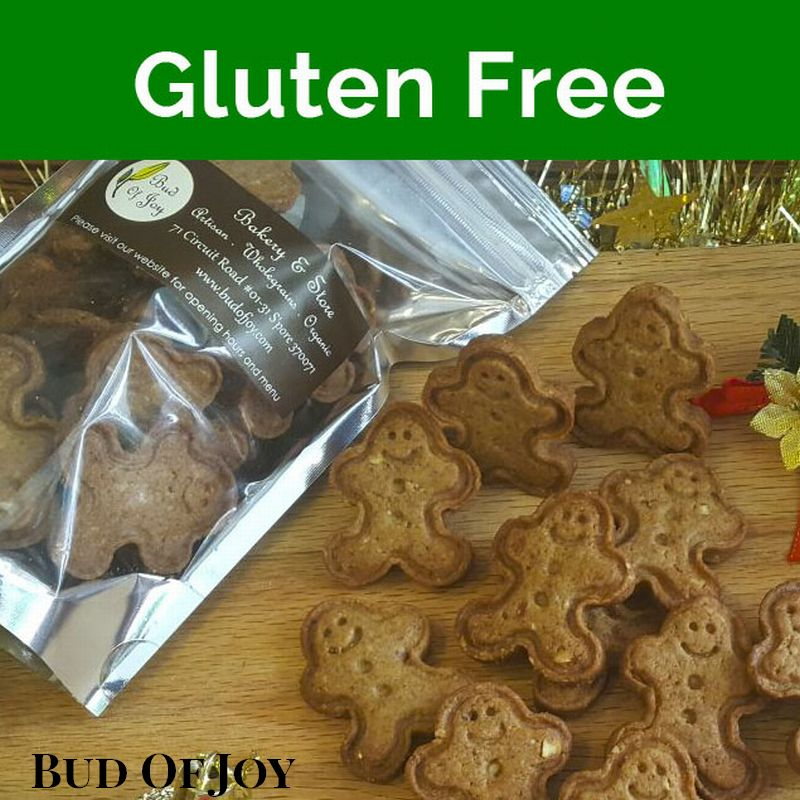 Organic Gluten Free Mini Gingerbreadman