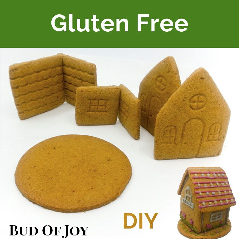 DIY Organic Gingerbread House - Gluten Free