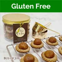CNY Organic Gluten-Free and VEGAN Pineapple Tarts (Limited Stock)