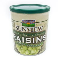 Organic Green Raisins