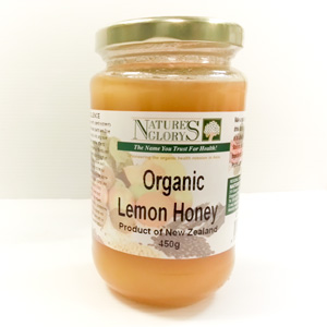 Organic Lemon Honey