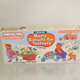 Organic Maple Teething Biscuit - Healthy Times