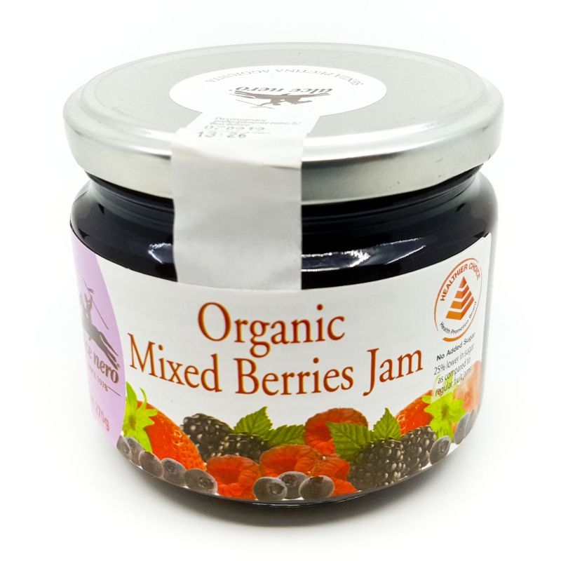 Organic Mixed Berries Jam