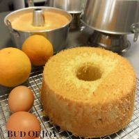 Organic Orange Chiffon Cake