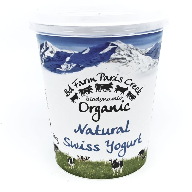 Organic Paris Creek Yoghurt - Natural