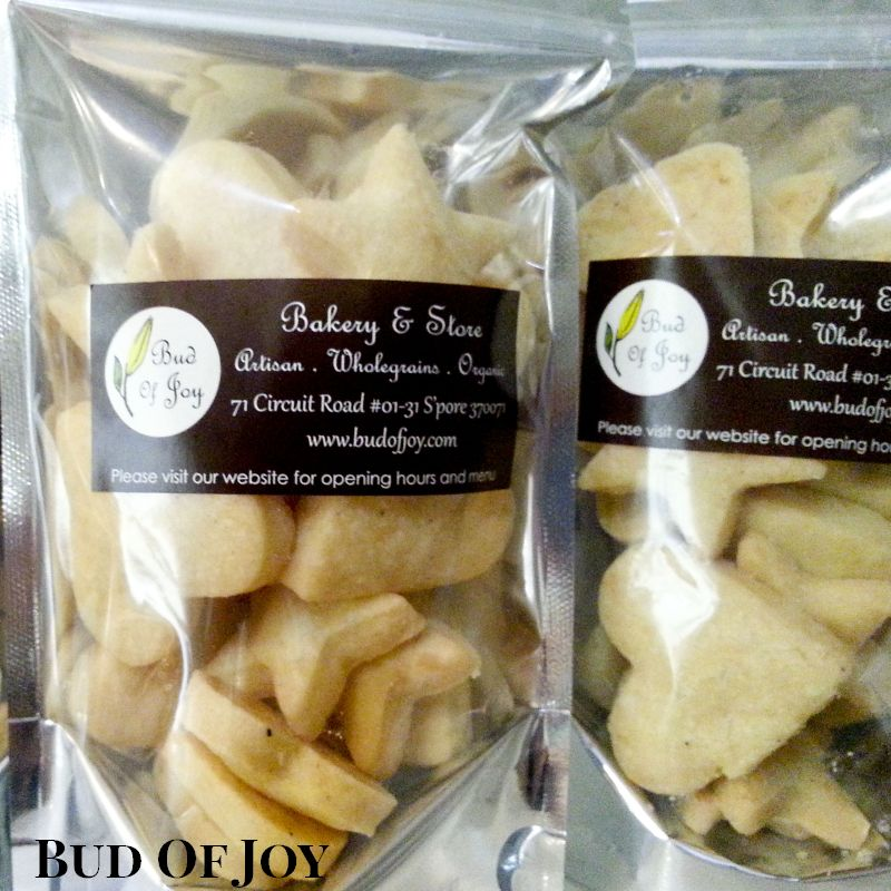 Organic Peppery Cheese Cookies
