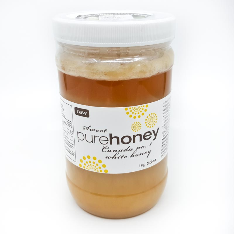 Organic Raw Honey 1kg