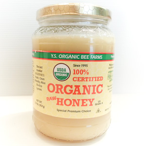 Organic Raw Honey 907g