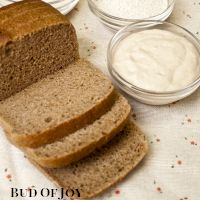 Organic Wholemeal Sourdough Bread