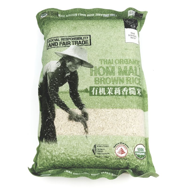 Organic Thai Hom Mali Brown Rice