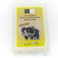 Organic Thai White Glutinous Rice