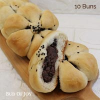 Organic Vegan Red Bean Buns (pack of 10)