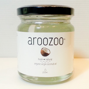 Organic Virgin Coconut Oil (aroozoo - 200ml)