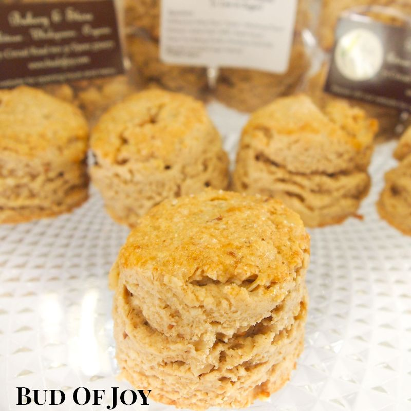 Organic Walnut Maple Scones