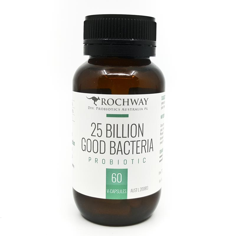 Rochway 25Bn Good Bacteria (60 Capsules)