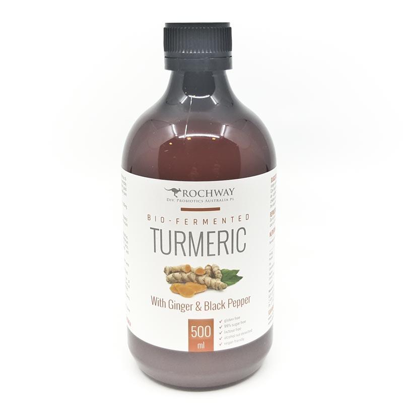 Rochway Bio-Fermented Turmeric with probiotics
