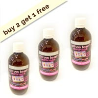 Olive Leaf Extract with probiotics (formula for children) - Buy 2 get 1 free Promotion