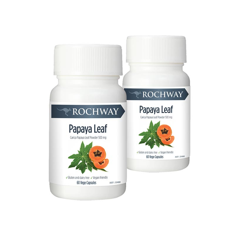 Rochway Papaya Leaf Extract (bundle of 2)