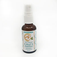 100% Natural Sanitizer with Organic Ingredients