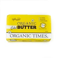 Organic Butter (lightly salted)